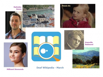 Deaf Wikipedia - March